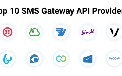 Top 10 SMS Gateway API Providers (2021 Edition)